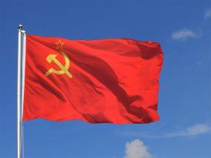Le drapeau de l'ancienne URSS